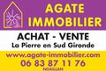 AGATE IMMOBILIER Agence immobiliere dans le sud gironde Agence immobiliere dans le sud Gironde